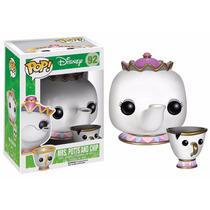 Tk0 Toy Pop! Disney Beauty & The Beast Mrs Potts & Chip