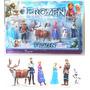 Frozen Kit 6 Bonecos Congelados Disney Em Pvc Pronta Entrega