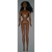 Boneca Pocahontas Disney Barbie 30cm Nua Pescoço Consertado