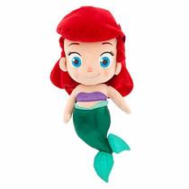Disney Store Ariel Criança Pequena Sereia Pelúcia Peq. 35cm