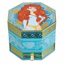 Disney Pixar Valente - Merida Caixinha De Música Porta Joia