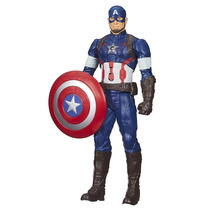 Boneco Eletrônico Capitão América 30 Cm Vingadores - Hasb