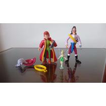 Peter Pan & Capitão Gancho Disney Heroes Famosa