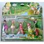 Kit Tinker Bell Com 5 Personagens Sininho Disneykit