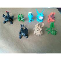 Como Treinar O Seu Dragão - Kit Com 8 Bonecos