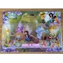 Kit 6 Personagens Tinker Bell Fadinha Sininho Disney Boneca