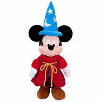 Disney Store Mickey Mouse Feiticeiro Pelúcia Medio 61cm