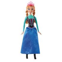 Boneca Princesa Anna Brilhante Disney Frozen Mattel