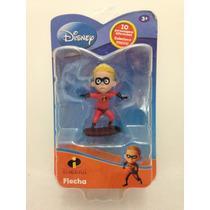 Miniatura Flecha Os Incríveis Disney Boneco Herói - Yellow