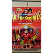 Kit Com 05 Bonecos Os Incriveis Disney Collection Figures