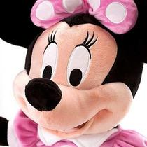 Minnie 35 Cm - Pelúcia Original Disney No Brasil