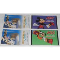 Lote C/8 Ingressos Disney Universal Busch Gardens Sea World