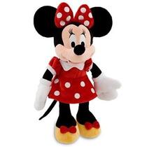 Boneca Minie Pelucia /grande - 50 Cm /original Disney +dvd
