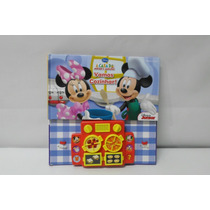 Livro A Casa Do Mickey Mouse A Vamos Cozinhar - Pi K