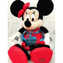 Pelúcia Minnie Piscina Edição Especial Disney Store Original