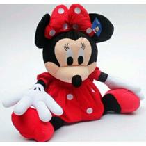 Kit 2 Minnie E Mickey De Pelúcia 30 Cm