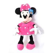Boneco De Pelúcia Minnie Rosa R$ 35,99