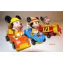 Disney Lote Carros Avião D Mickey Tomica Outros Diecast 1:64