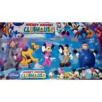 Kit Com 5 Personagens Mickey Mouse Club House Disney