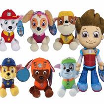 Coleção Pelúcia Patrulha Canina 7 Personagens Pronta Entrega
