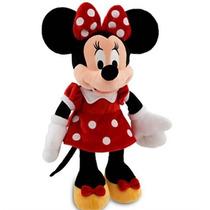 Minnie Mouse Em Tecido Original Vestido Vermelho