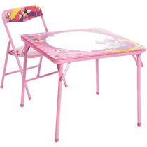 Mesa De Atividades Com Cadeira Minie Mouse Mn-mb1s - Fun