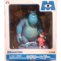 Monstros Sa Disney Pixar Sullivan E Boo 17 Cm Sega