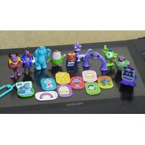 Universidade Monstros Kinder Ovo Coleção Completa Pixar