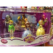 Miniaturas Playset Princesa Sofia The Frist Boneca Pelúcia