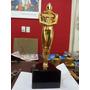 Trofeu Tipo Oscar Estatua Estatueta Metal Dourado Pesado 3kg