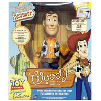 Toy Story 3 - Xerife Woody Deluxe - 45 Frases - Toyng