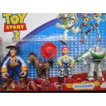 Kit 04 Bonecos Toy Story Woody Jessie Buzz Bullsey