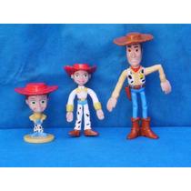Lote De Miniaturas Do Filme Toy Story Da Disney / Pixtar