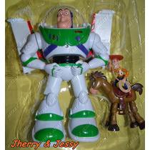 Buzz Toy Story Boneco Eletrônico