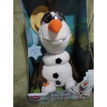 Olaf Frozen Musical Canta Dança Move Original Disney No Br