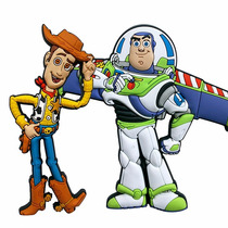 Kit Imã De Galadeira Toy Story Buzz E Woody - Disney