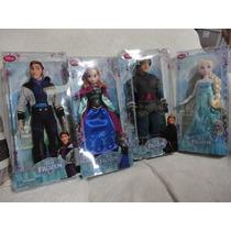 Frozen Elsa Anna Kristoff Hans 4pç Origina Disney No Brasil