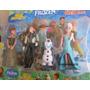 Kit Bonecos Frozen Anna/hans/olaf/elsa