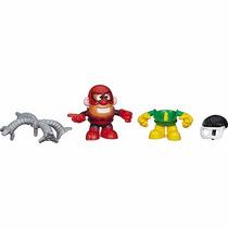Senhor Batata Marvel Homem Aranha E Doutor Octopus Hasbro