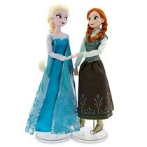 Bonecas Frozen Elsa E Anna 30 Cm Disney Original Patins Gelo