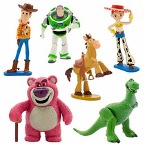 Toy Story Figure Play Set Disney Store No Brasil