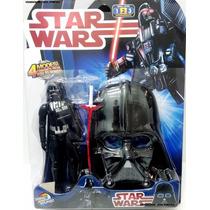Boneco Darth Vader Com Máscara - Star Wars 24 Cm