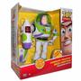 Boneco Toy Story Buzz Lightyear Poderoso Projetor Som E Luz