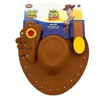 Chapeu Woody Com Cartucheira E Cinto Original Disney