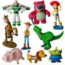 Toy Story 3 O Buzz Lighter Woody Jessie 9 Peças Pvc.