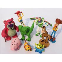 Bonecos Toy Story Bonecos 9 Pçs - 3 Á 9 Cm - Pronta Entrega