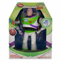 Boneco Buzz Lightyear Toy Story Fala 15 Frases Disney Store