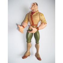Caçador - Personagem Do Desenho Do Tarzan - 17 Cm