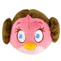 Pelúcia Grande Angry Birds Star Wars - Leia - Dtc