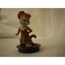 Coleção Boneco Miniatura Alvin E Os Esquilos